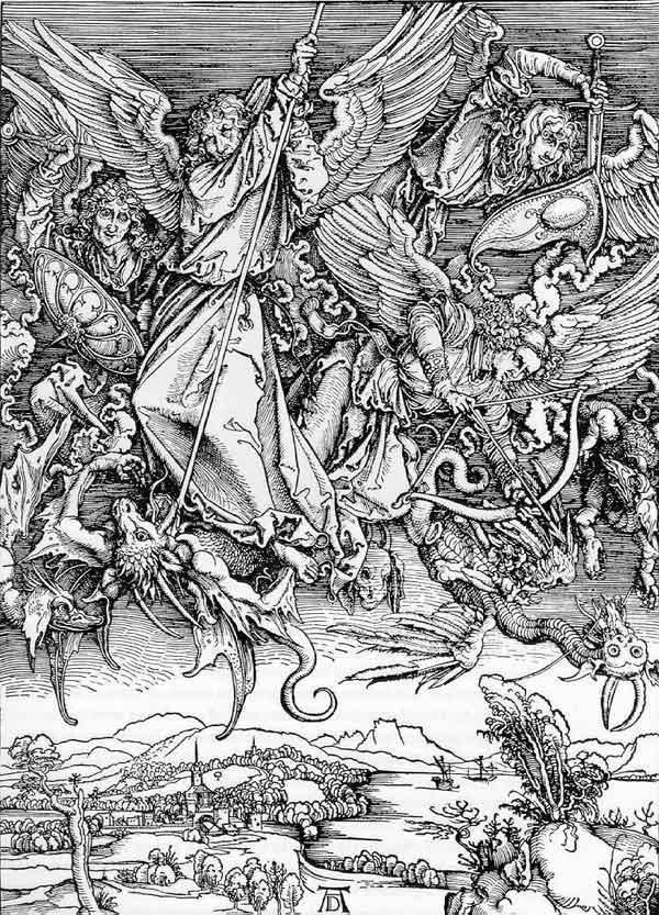 гравюры средневековья: